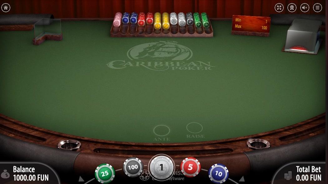 BitStarz Carabinean Poker