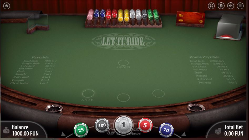 BitStarz review let it ride poker with bitcoin