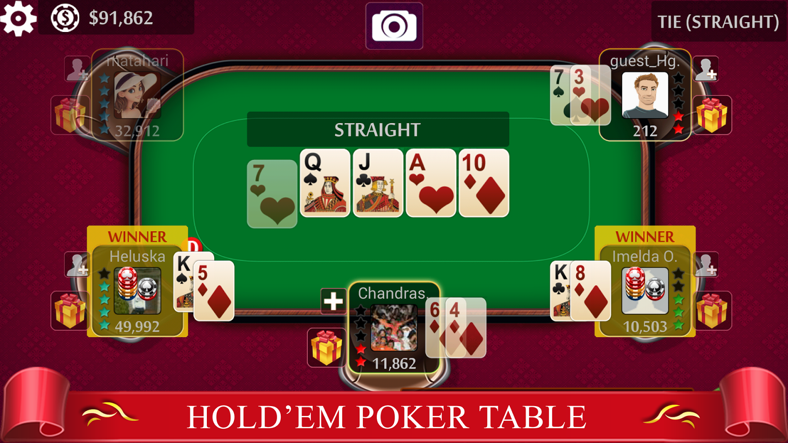 texas holdem poker casino rules