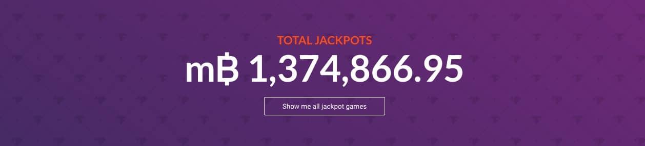 Bitcasino.io total jackpot