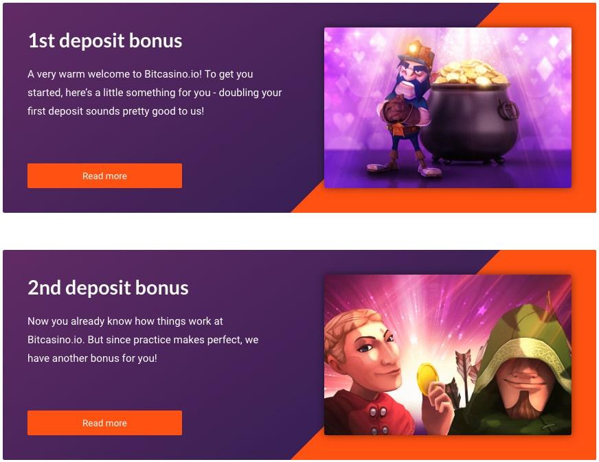 Bitcasino.io the best Bitcoin welcome bonus
