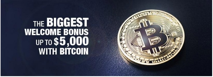 Bovada the best Bitcoin welcome bonus