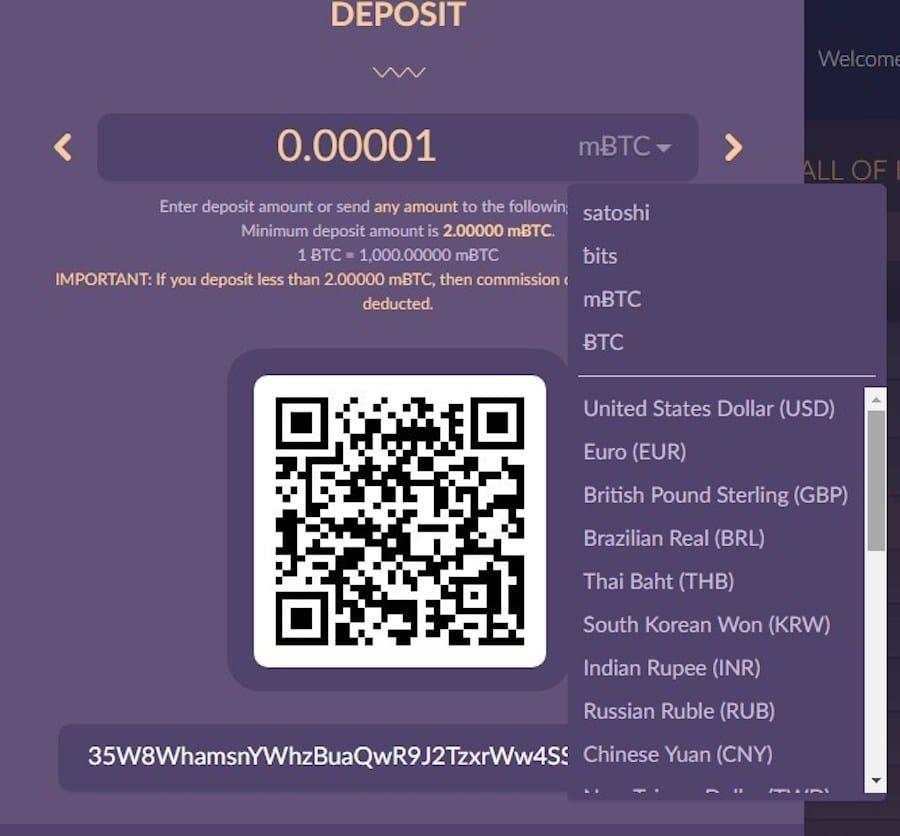 bitkong seed deposit