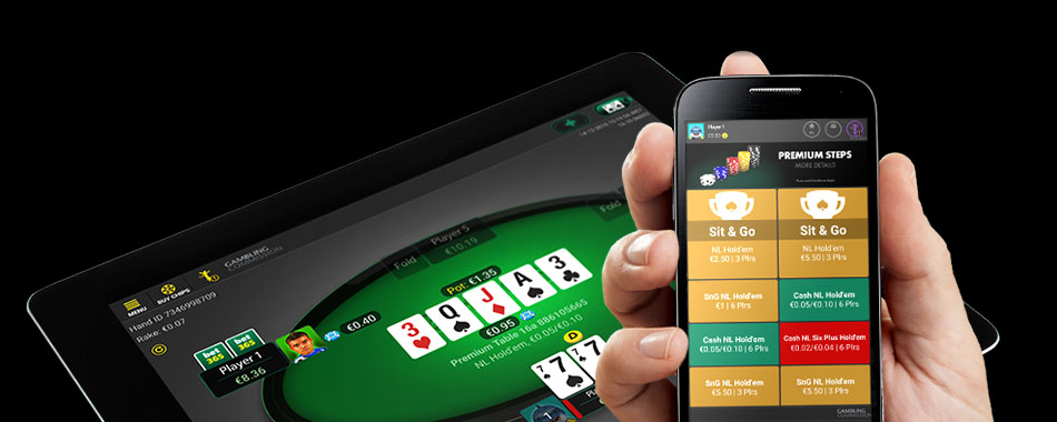 Play Bitcoin poker on mobile