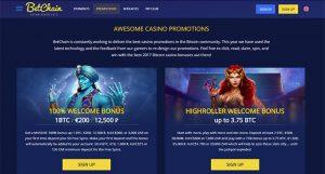 BetChain: Bonuses & Promotions