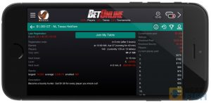 BetOnline Mobile Support
