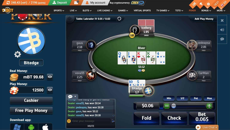 1xbit review poker