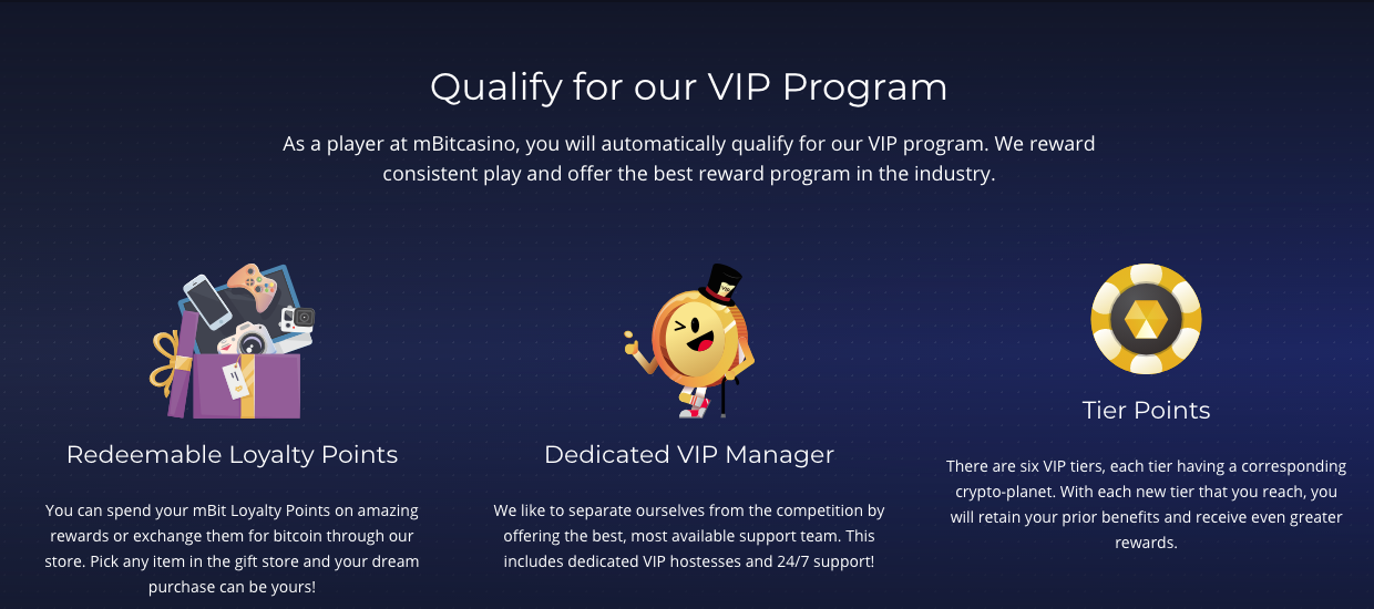 Does mBit have a VIP program