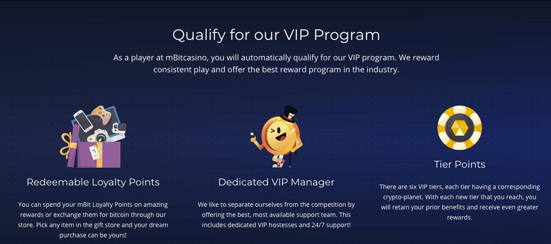 Does mBit have a VIP program