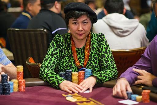 10th highest earning female poker player: Joanne Liu 'JJ'